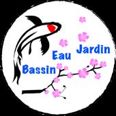 logo bassin eau jardin